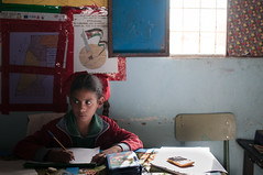Estudiantes Saharauis: Sentirse amedrentado por los exámenes.