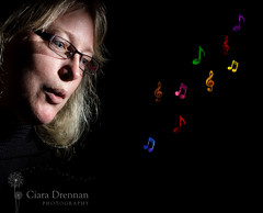 19/52 'Wind' (Ciara Drennan) Tags: portrait music colours purple smoke blowing blow incense musicalnotes smokephotography smokeartphotography