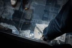 Don't look down (CaptiveRays) Tags: height x100s