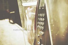 numbers don't lie (TIBBA69) Tags: street old canon vintage strada colours bokeh telephone scratches retro dust telefono colori numeri polvere graffi sfuocato mumbers andreatiberini numbersdontlie