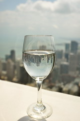 Cheers Chicago! (Seth Oliver Photographic Art) Tags: chicago weather reflections landscapes illinois nikon midwest shot cityscapes sunny pinoy circular johnhancockbuilding refractions urbanscapes secondcity windycity magmile chicagoist d90 cityofbigshoulders polarizerhandheld setholiver1 1024mmtamronuwalens