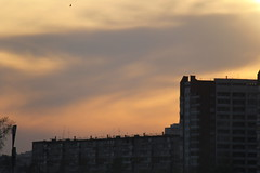 Yellow sky (Tigerpavel) Tags: sunset sky buildings