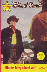 Deputy Star Sheriff Wildwest-Romane 50 (micky the pixel) Tags: western pulp groschenroman dimenovels groschenheft wildwestroman mauerhardtverlag deputystarsheriff percyprady blakejerryrumtauf