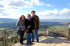 Ross Heintzkill - Annie, Lisa & Me at Assisi (ACM - Associated Colleges of the Midwest) Tags: london me florence assisi annielane