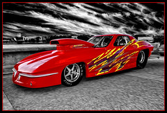 Lightning (Wilder PhotoArt) Tags: auto cars chevrolet canon artistic racing corvette automobiles dragracing racecars customcars carshows americaamerica lakemirrorclassic autoglamma canoneos5dmarkii
