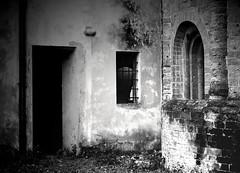 Pavia - San Teodoro (AndreaPizzocchero) Tags: old city bw church architecture italia chiesa antico lombardia architettura biancoenero citt pavia