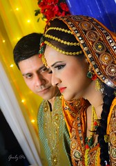 Bride & Groom (GOLZER) Tags: wedding man groom bride women couple bangladeshi