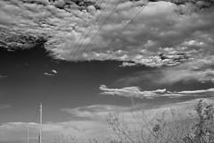 Telegraph (favianroldan) Tags: sky clouds blackwhite nikon powerlines evergladesnationalpark d700