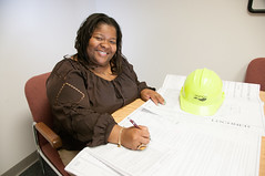 D5657_CM-96 (MoDOT Photos) Tags: hardhat female tamara missouri plans engineer employee pitts multimodal modot bycathymorrison
