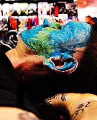 (Marta Marley) Tags: blue pierced verde green azul tattoo piercing tat tatuaje tattooed facetattoo tuerto facepiercing facialtattoo perforacin tatuajefacial piercingfacial martamarley