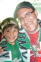 Catcher And Papa At Jeld Wen Field (Catcher & Co.) Tags: portland football soccer papa catcher timbers portlandtimbers