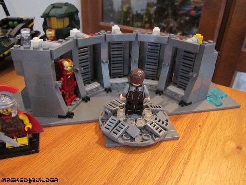 lego ironman moc 2013 ironman3 hallofarmor