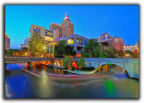 River walk of San Antonio