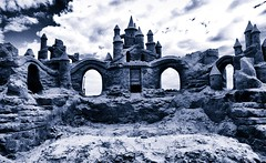 Atlantic City Sandcastle (The Whistling Monkey) Tags: ocean beach newjersey atlanticcity ac sandcastle jerseyshore nikfilters photobyterrymurphy photobythewhistlingmonkey