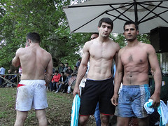 wrestlers / Arethusa /Thessaloniki Greece (d.mavro) Tags: shirtless sexy beautiful greek spring nipples body wrestling traditional north handsome hunk greece grecia thessaloniki torso wrestler biceps wrestle hommes homme greco arethusa grecoroman hansome gre  gures