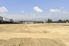 I-215 Widening Project - May 9, 2013 (I215news) Tags: sanbernardino rados skanska sanbag