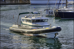 Patrol (David Gilson) Tags: sea boat spain nikon police quay berth patrolboat sigma70200f28apoexdgos