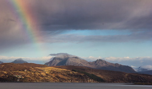 "Rainbow Over Loch Ewe • <a style=""font-size:0.8em;"" href=""http://www.flickr.com/photos/69544236@N04/8744366149/"" target=""_blank"">View on Flickr</a>"