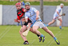 Roanmore's Eoin Madigan beats Pauiric Mahony to the Sliiotar at Walsh Park during Sunday's SHC clash