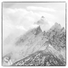 storm_bw_08 (StephenWilliDesigns) Tags: blackandwhite snow storm mountains weather jackson wyoming tetons grandteton jacksonhole grandtetonnationalpark