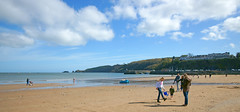 Photo of On the beach at Saundersfoot