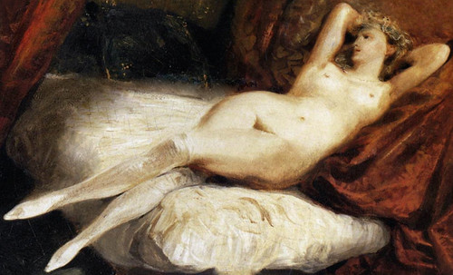 "Majas, homenajes de Francisco de Goya y Lucientes (1802), Eugéne Delacroix (1826), Amadeo Modigliani (1916), Pablo Picasso (1906), (1931), (1959), (1964). • <a style=""font-size:0.8em;"" href=""http://www.flickr.com/photos/30735181@N00/8746849693/"" target=""_blank"">View on Flickr</a>"