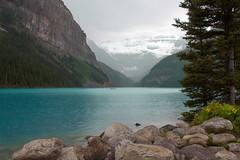 Stormy Lake Louise (Kathy~) Tags: canada banff lakelouise stormy water glacier scape waterscape herowinner favescontestwinner ultrahero friendlychallenges 15challengeswinner instagram