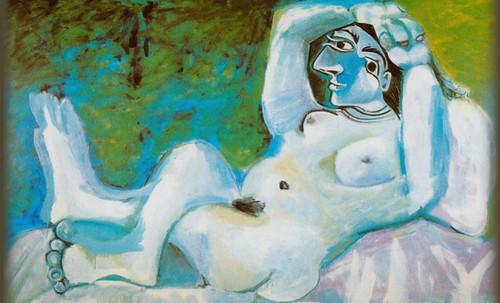 "Majas, homenajes de Francisco de Goya y Lucientes (1802), Eugéne Delacroix (1826), Amadeo Modigliani (1916), Pablo Picasso (1906), (1931), (1959), (1964). • <a style=""font-size:0.8em;"" href=""http://www.flickr.com/photos/30735181@N00/8747968768/"" target=""_blank"">View on Flickr</a>"