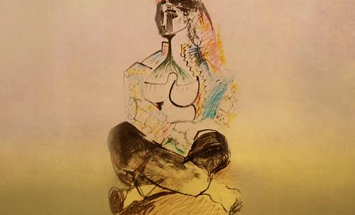 """Odaliscas (Mujeres de Argel) yuxtaposición y deconstrucción de Pablo Picasso (1955), síntesis de Roy Lichtenstein (1963). • <a style=""""font-size:0.8em;"""" href=""""http://www.flickr.com/photos/30735181@N00/8748005184/"""" target=""""_blank"""">View on Flickr</a>"""