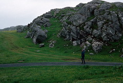North end of Great Bernera (1996) (Duncan+Gladys) Tags: uk scotland rossandcromarty isleofgreatbernera