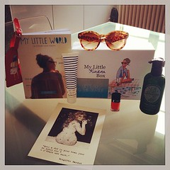 Let's go to the seaside!  #mylittlerivierabox #mylittlebox #may #sunglasses #aftersuncream #nailpolish #mangohairprotector Thanks @my_little_paris (passionthe) Tags: paris les french little box gift surprise sa femmes beaute choisir toutes mylittlebox mylittleparis boxicomane