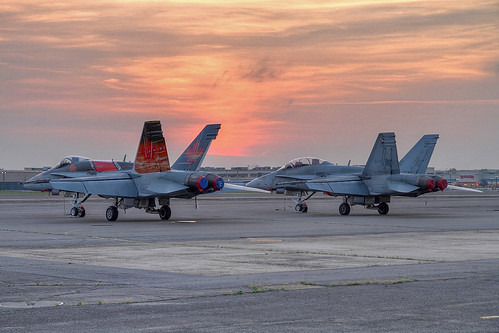 Canadian Air Force CF18 Hornets