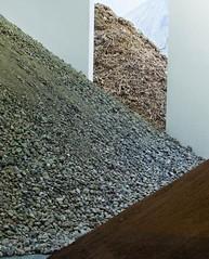 Escombros de la sala de exposiciones, TENT, Rotterdam, 2011
