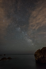 Cala Canyers, Palams (Sergi Monsegur) Tags: longexposure sea sky seascapes costabrava mediterraneansea milkyway palams valctea