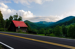 Change in times (TJRyals) Tags: road mountains barn franklin nc greatsmokeymountains greatsmokey franklinnc