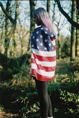 Like an American (eolhcsheppard) Tags: light fashion hair woods sunny lilac topshop