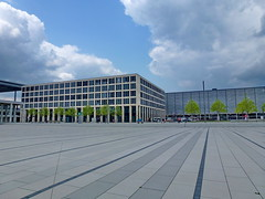 (2013) Berlin Brandenburg Airport Center (gerhard_hohm) Tags: berlin flughafen brandenburg ber schnefeld willybrandt
