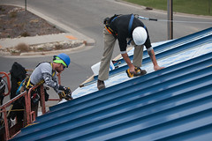 Application of Standing Seam Metal