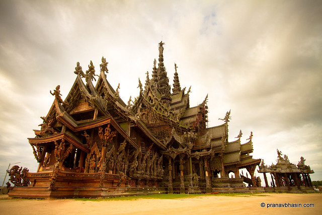The Sanctuary Of Truth, Pattaya