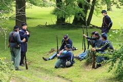 IMG_1304 (temeraire06) Tags: civilwar goosecreek reenactors loudouncounty upperville loudounvalley gettysburgprelude companyc20thmaine