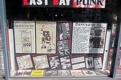 Berkeley - Rasputin Music: East Bay Punk - Barrington Hall (wallyg) Tags: california berkeley sanfranciscobayarea bayarea recordstore windowdisplay alamedacounty barrington barringtonhall rasputinmusic eastbaypunk