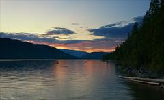 Shuswap Sunset (C McCann) Tags: sunset lake canada bc houseboat columbia british shuswap