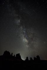Night Sky at The Windows (ArchesNPS) Tags: archesnationalpark
