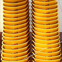 Lipton Chairs (loop_oh) Tags: ocean ice portugal yellow chair chairs tea capital atlantic insel gelb pack isle tee madeira atlanticocean stuhl icetea funchal lipton eiland atlantik stapel eistee ozean