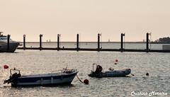 sunset (world's views) Tags: sunset portugal river boat gaia 2013 afurada
