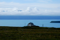 """ICELAND LANDSCAPES PROJECT DAY #10 (SmokingPermitted - """"Cosa sono? La bambina dei no"""") Tags: trip blue sea summer sky cloud house mountains home clouds iceland north icelandair 2013 icelandtravel icelandtrip mariannanatalesmokingpermitted"""