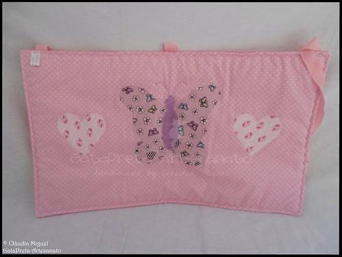 Conjunto tecido bebé A Fada e os pózinhos perlimpimpim lilás16