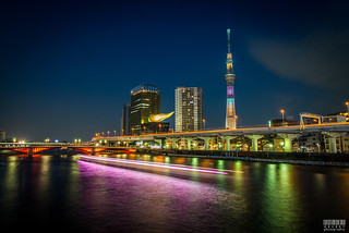 A view of the Skytree