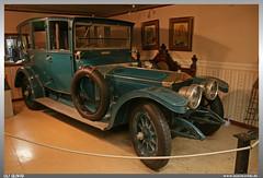 "1912 Rolls Royce Silver Ghost Limousine ""Ladybird"" (uslovig) Tags: auto canada car museum silver ghost automotive canadian ladybird rolls 1912 limousine royce kanada oshawa"