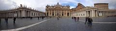 Piazza San Pietro Panoramic (d-harding) Tags: italy panorama vatican rome apple church basilica panoramic stpeterssquare stpetersbasilica iphone piazzasanpietro basilicadisanpietro 5s iphone5s